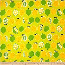 Cosmo Desert Quench Lemon Lime Oxford Canvas Lime