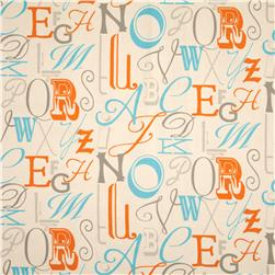 Premier Prints Alphabet Mandarin/Natural