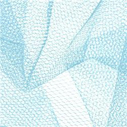 Nylon Net Light Blue Fabric