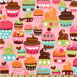 Michael Miller Sweet Treats Pink Fabric
