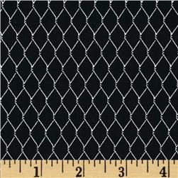 Timeless Treasures Chicken Wire Black