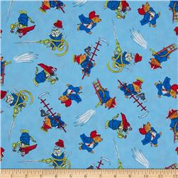 Busytown To the Rescue Tossed Fire Animals Blue