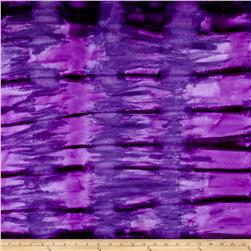 Cotton Jersey Knit Tie Dye Purple