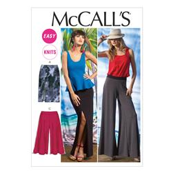 McCall's Misses' Skirts and Pants Pattern M6748 Size 0Y0