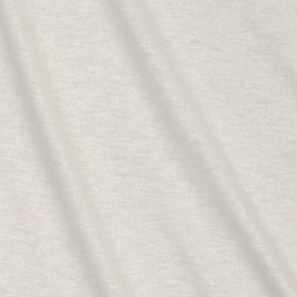 Lightweight Stretch Rayon Jersey Knit Icey White