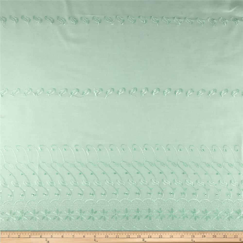 Single Scalloped Eyelet Mint