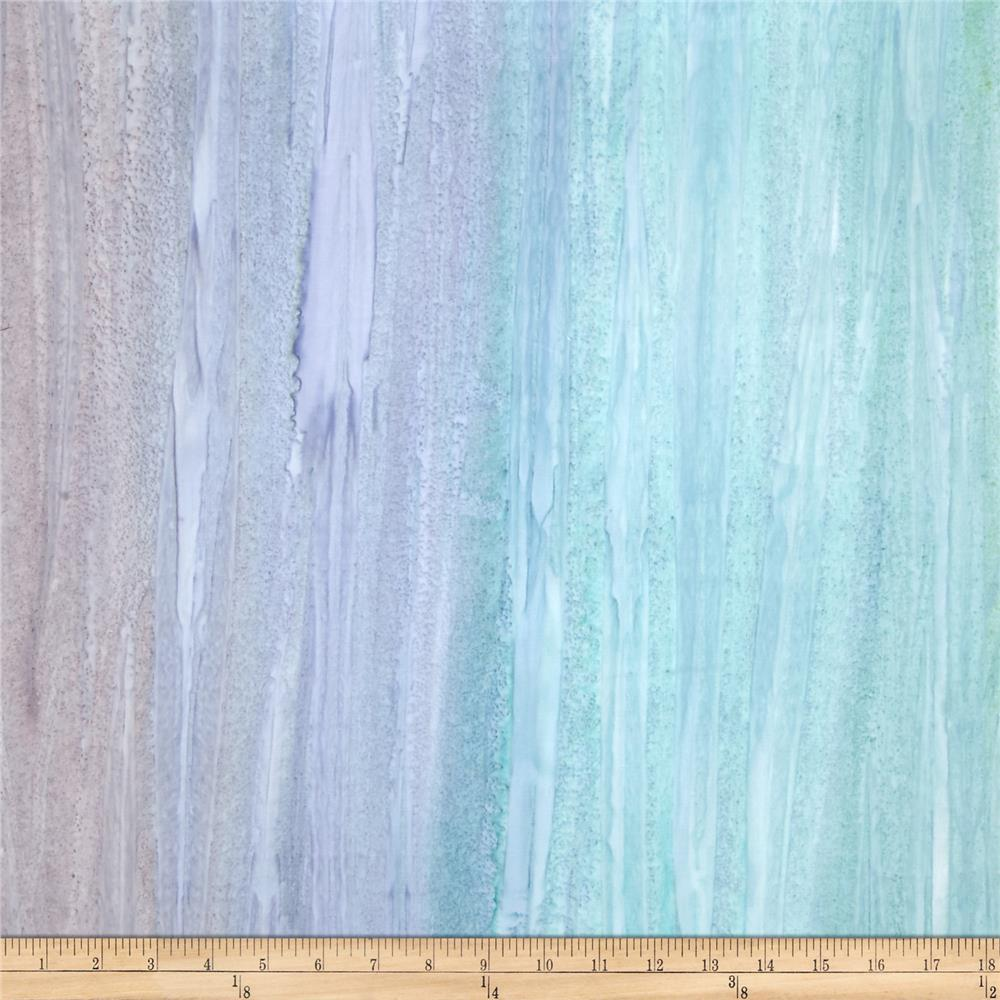 Kaufman Artisan Handpaints Ombre Stripe Spa