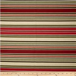 Richloom Chavez Stripe Rouge