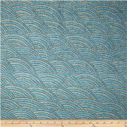 Trend Current Chenille Ocean Sparkle