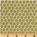 Medallion Muse Miniature Leaves Green/Tan