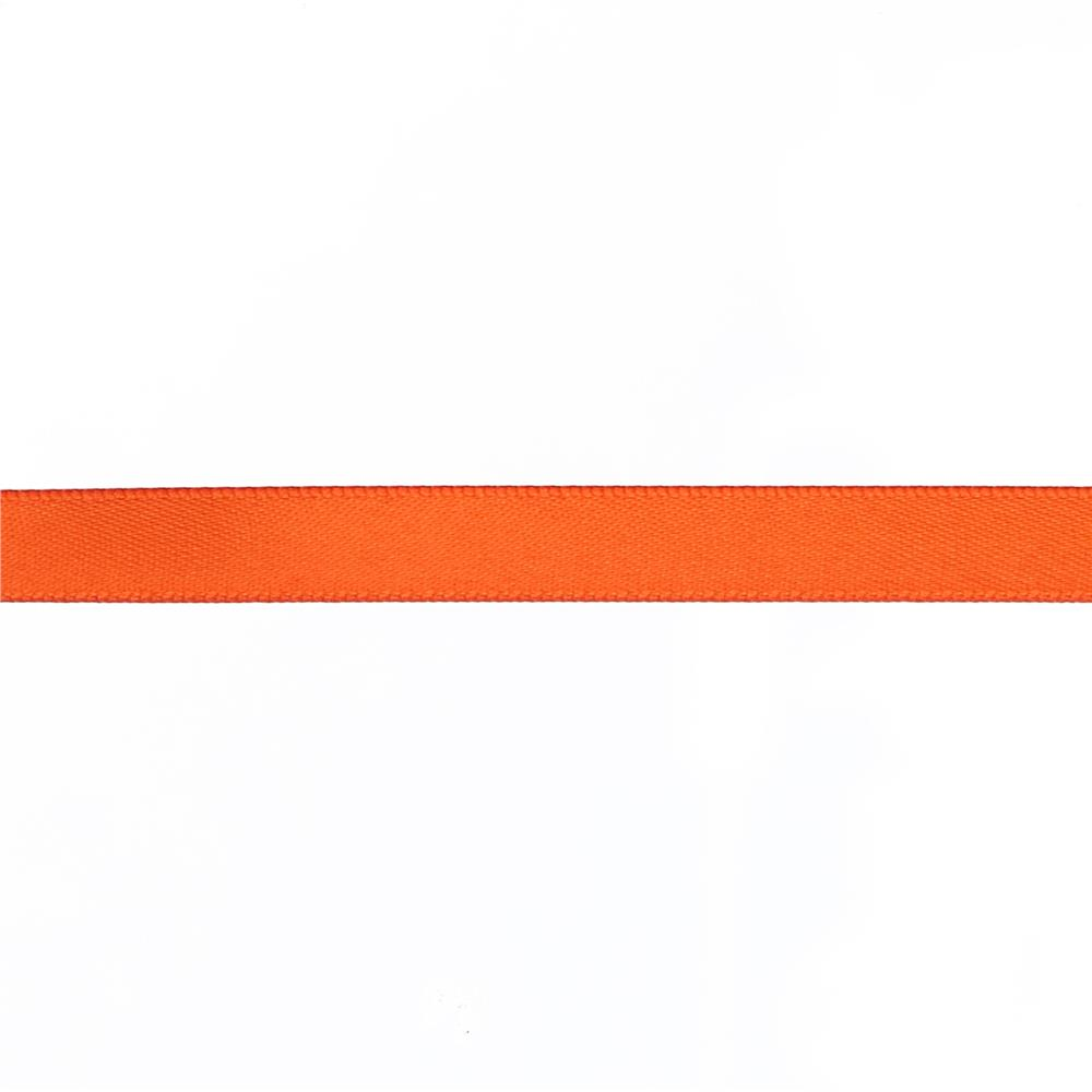 "May Arts 3/8"" Double Face Satin Ribbon Spool Orange"