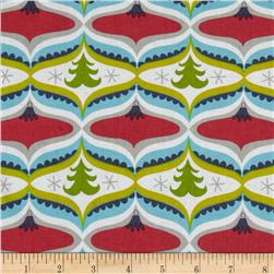 Treelicious Garland Red Fabric