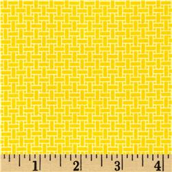 Cuddle Me Basics Flannel Basketweave Yellow