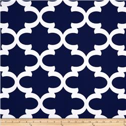 Premier Prints Fynn Navy Blue