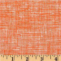 Timeless Treasures Sketch Orange