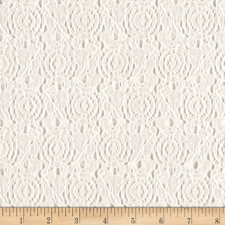 Novelty Lace White