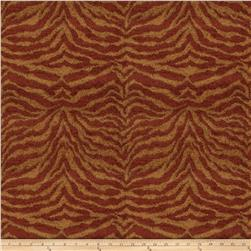 Fabricut Tigress Too Chenille Henna