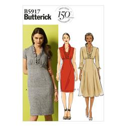 Butterick Misses' Dress Pattern B5917 Size A50