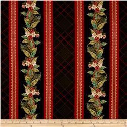 Christmas Splendor Border Stripe