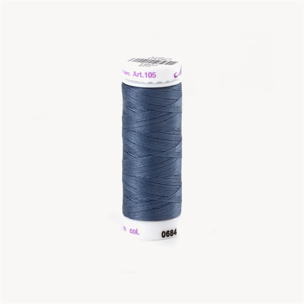 Mettler Cotton All Purpose Thread 3-ply 50wt 164YDS Blue Shadow