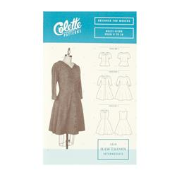 Colette Misses Hawthorn Dress Pattern