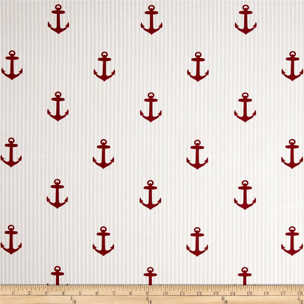 Covington Indoor/Outdoor Anchors Red