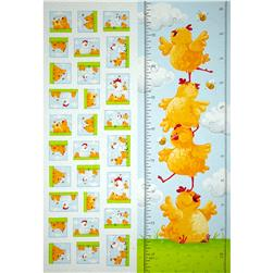Susybee Pippa & Chicks Pippa Growth Chart 30''