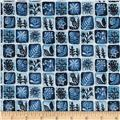 Cloud 9 Organic Moody Blues Mosaic White