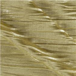Crinkle Single Knit Gold
