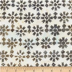 Timeless Treasures Tonga Batik Capri Patchwork Star Oyster