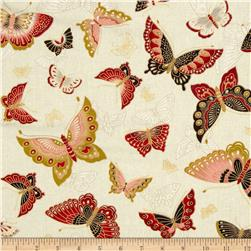 Imperial Collection Metallics Butterflies Vintage
