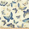 Imperial Collection Metallics Butterflies Ivory