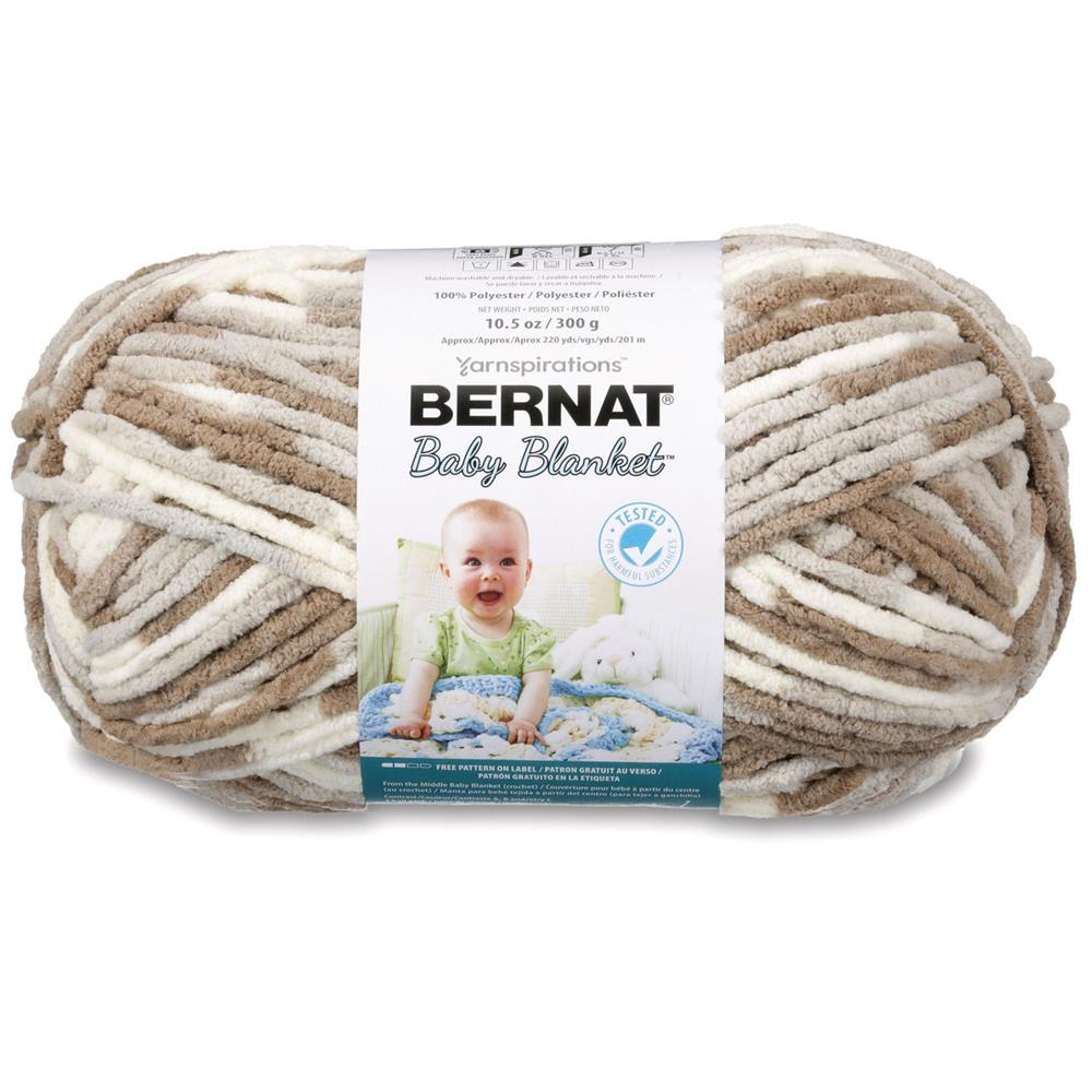 Bernat Baby Blanket Big Ball Yarn (04011) Little Sandcastles ...
