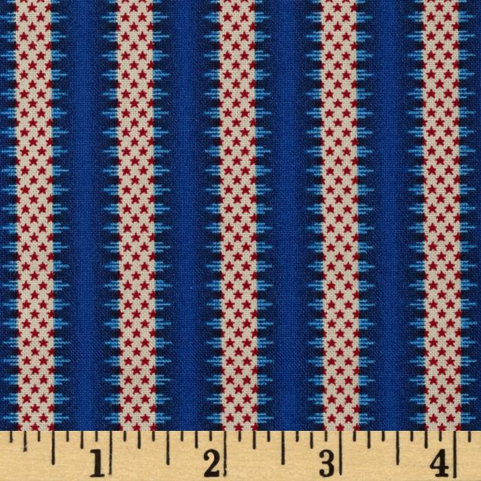 Summer Festival Small Stripes Blue