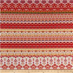 Ethnic Ity Prints Red/Yellow