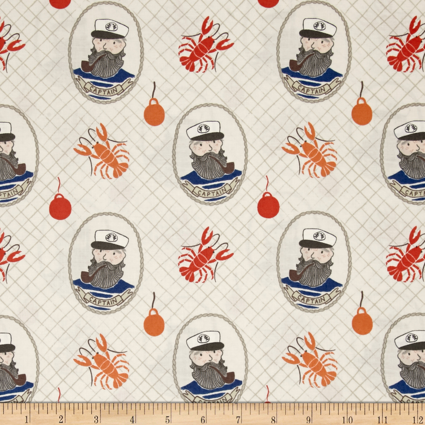 Lewis & Irene Harbour Side Captain Tan Fabric by E. E. Schenck in USA