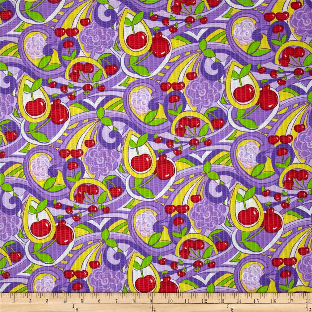 Tutti Frutti Plisse Cherries Purple