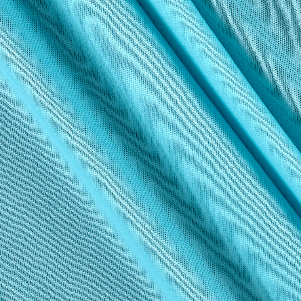 70 Denier Tricot Robin Egg Blue Fabric by Mike Cannety in USA