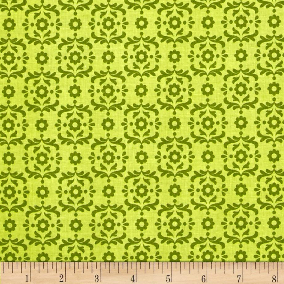 Riley Blake Summer Song 2 Damask Green