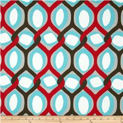 Premier Prints Indoor/Outdoor Rivers Rojo Red