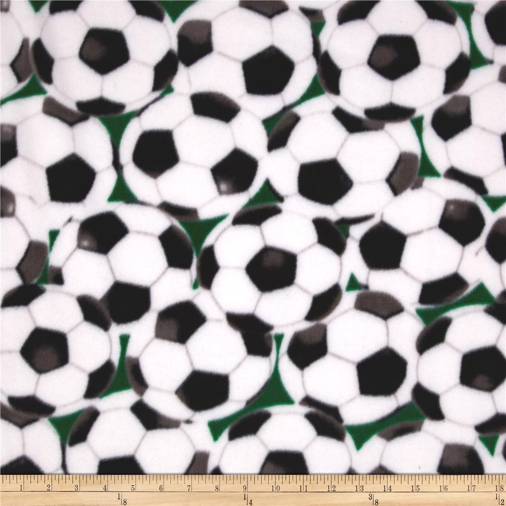 Winter Fleece Soccer Balls Multi