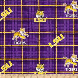 Collegiate Cotton Broadcloth Louisiana State University