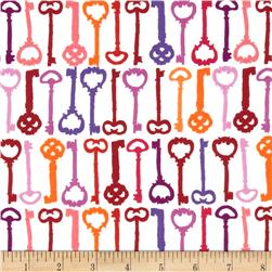 Valori Wells Ashton Road Keys Extract Fabric