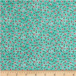Maywood Studio Roam Sweet Home Ditsy Flowers Aqua