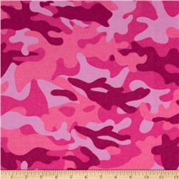 Newcastle Flannel Mini Camo Pink