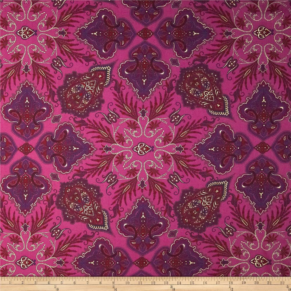 Liberty of London Tana Lawn Lady Paisley Violet