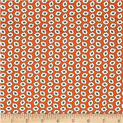 Windham Playdate Jewel Floral  Orange