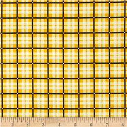 Spotlight Plaid Golden Yellow
