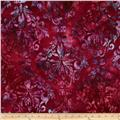 Artisan Batiks Regal Abstract Flowers Garden