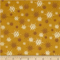O' Christmas Tree Snowflakes Gold